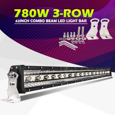 Led bar 3Row 1T-9D 42 780W 107cm