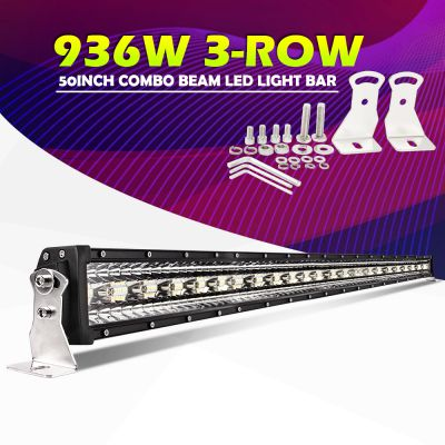 Led bar 3Row 1T-9D 50 936W 127cm