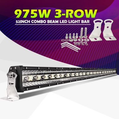 Led bar 3Row 1T-9D 52 975W 132cm