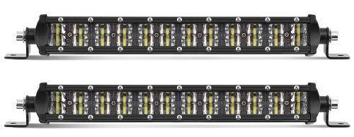 Led bar slim 2row  7,7 36W 19cm